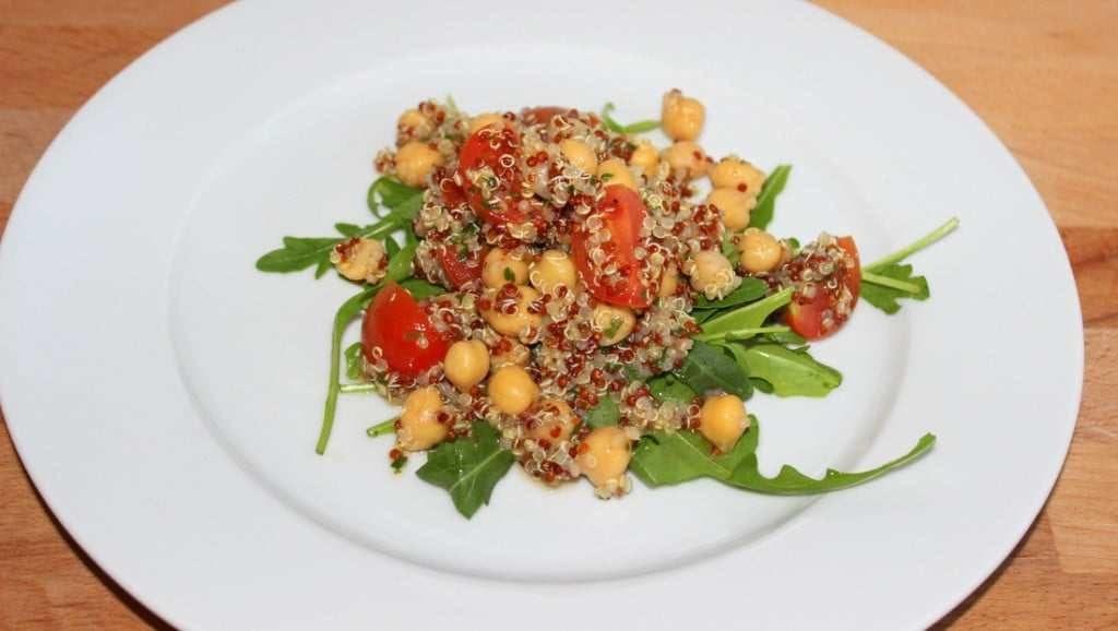 Quinoa-Kichererbsen Salat
