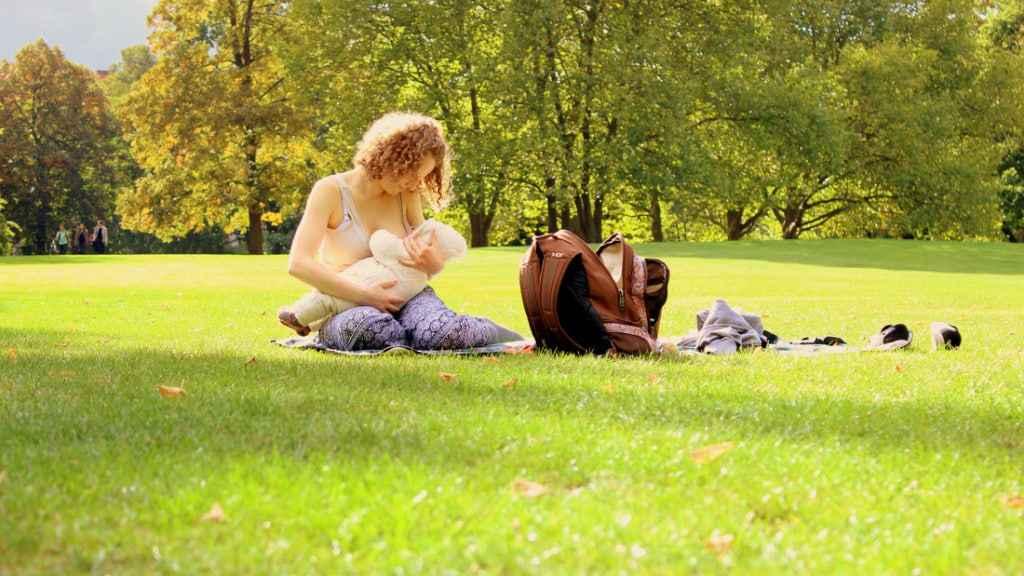 Mutter-Kind-Bindung durch Stillen