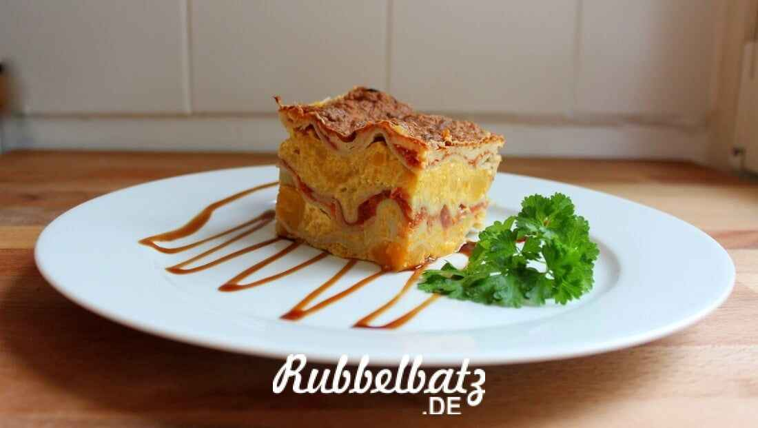 Kürbis-Lasagne