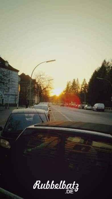 Die Sonne machte schon deutlich, dass nicht mehr lange auf sie zu zählen ist.