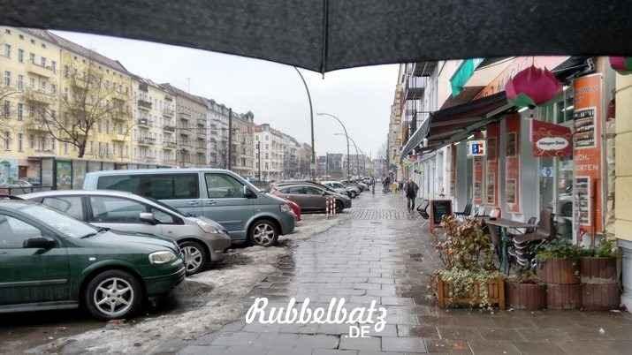 Regenschirm Mein 12. Januar in 12 Bildern  Berlin-Regen Mein 12. Januar in 12 Bildern