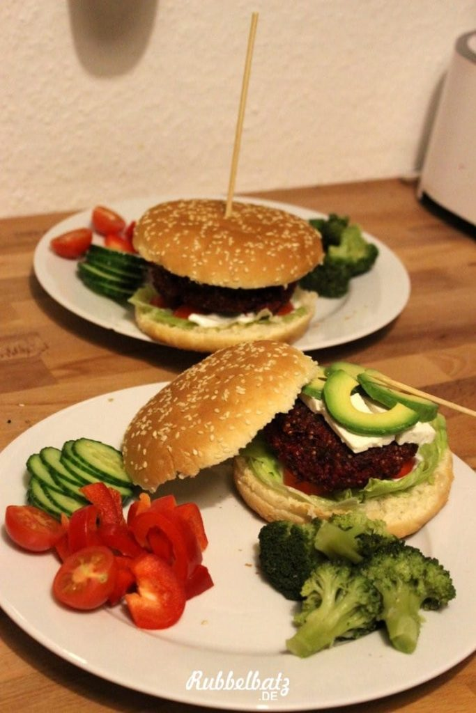 rezept vegane quinoa burger. Black Bedroom Furniture Sets. Home Design Ideas