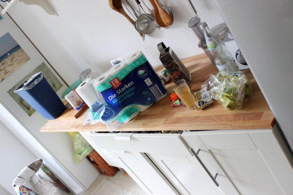 Küche Unordnung