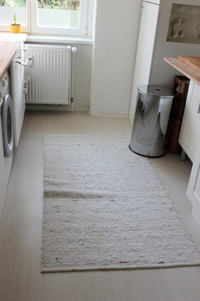 Küchenboden Ordnung