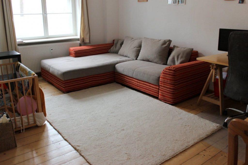 Ordnung Wohnzimmer