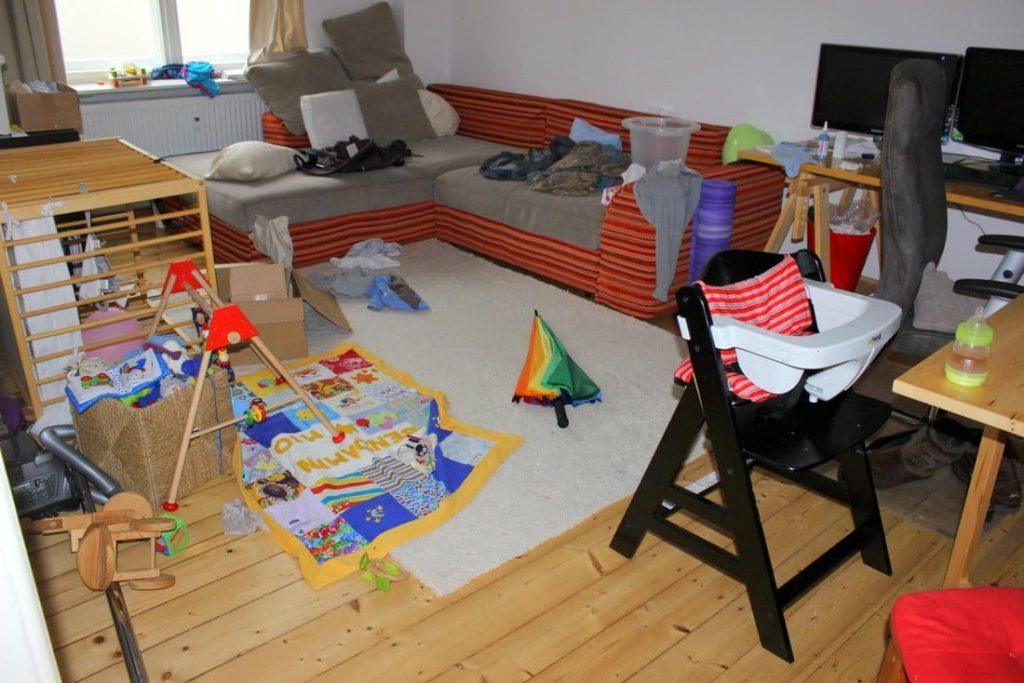 wie wir unseren haushalt meistern mit baby zu hause bei rubbelbatz. Black Bedroom Furniture Sets. Home Design Ideas