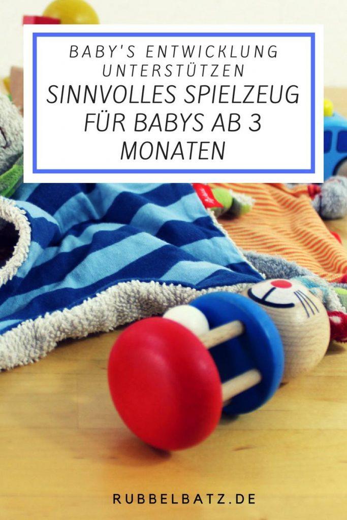 ✪ Meine Empfehlungen für Sinnvolles Babyspielzeug ab 3 Monate