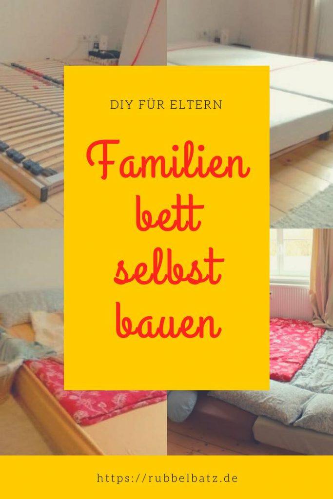 Familienbett Bauen Mit Einfachsten Mitteln Zum Riesenbett Anleitung