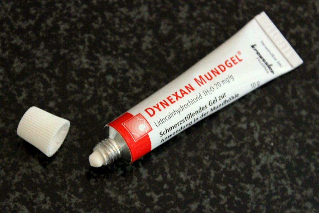Dynexan Mundgel gegen Zahnen