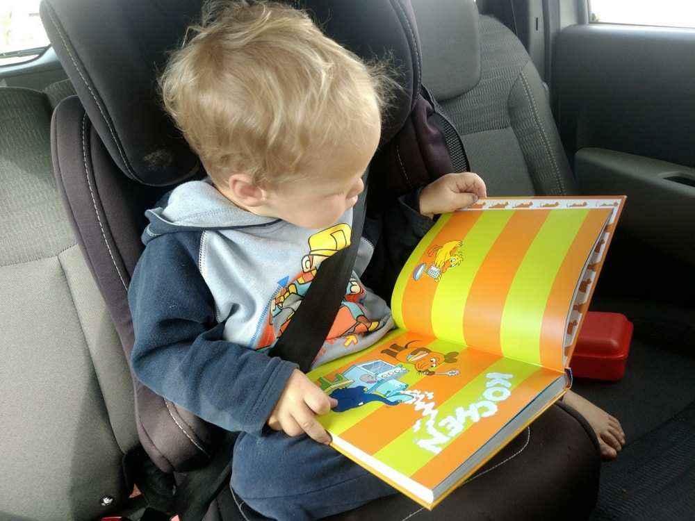 Baby Schreit Im Auto