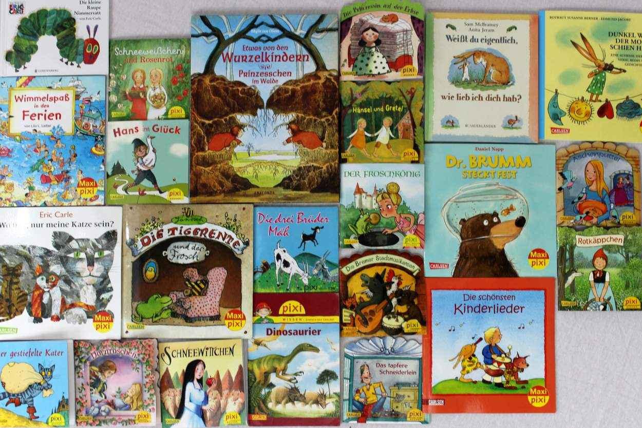 Unsere Sammlung an Pixie Bücher für 2 Jährige
