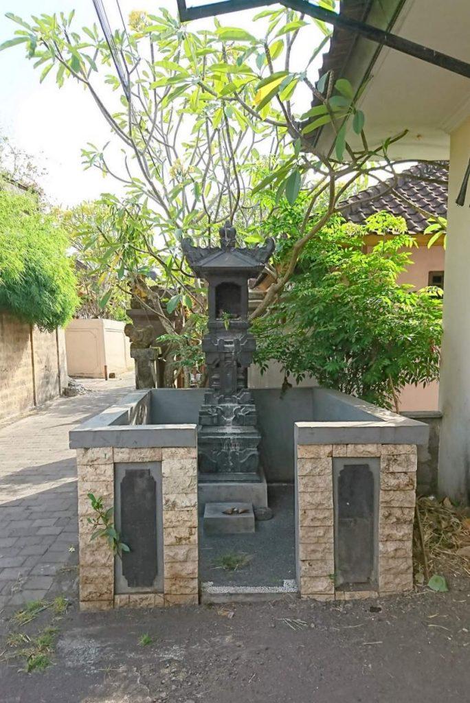 Kleine Altare auf Bali