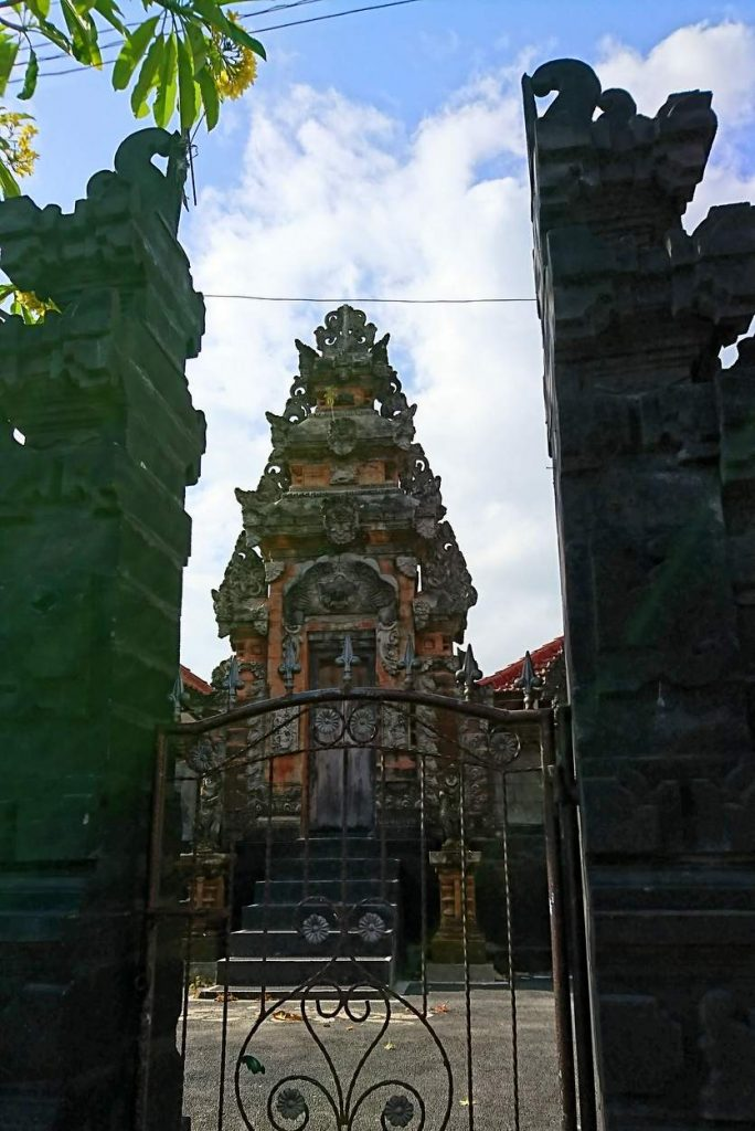 Typische Tempelanlagen auf Bali