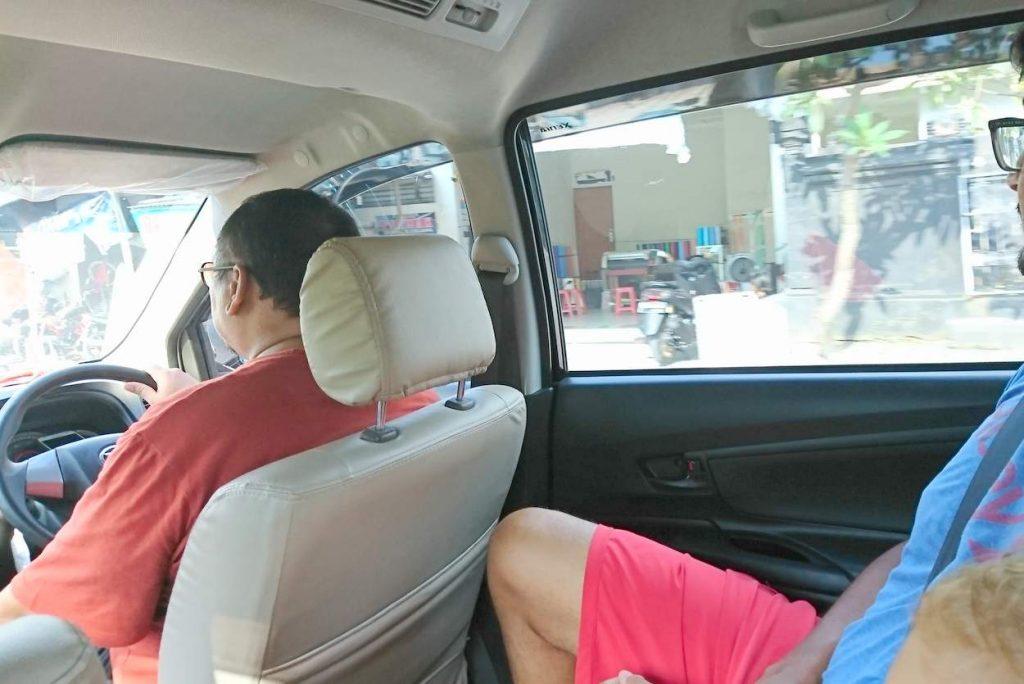 online taxi fahrdienste wie uber, grab auf Bali