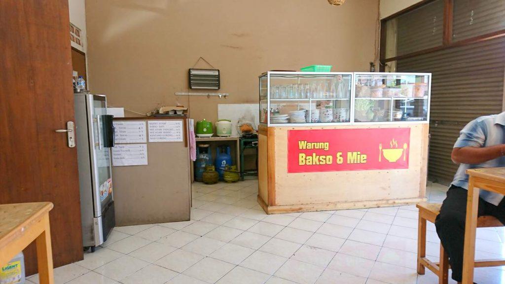 Warung typischer Bali Imbiss Essensstand