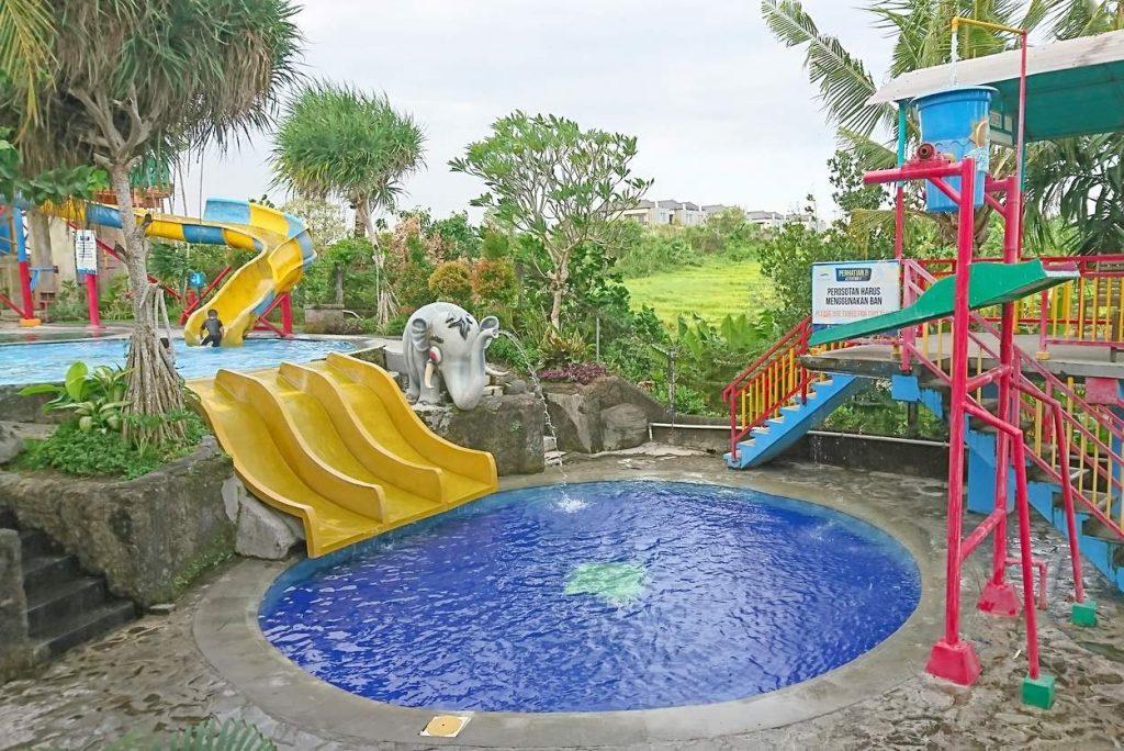 Taman Segara Madu Water Park in Canggu Bali