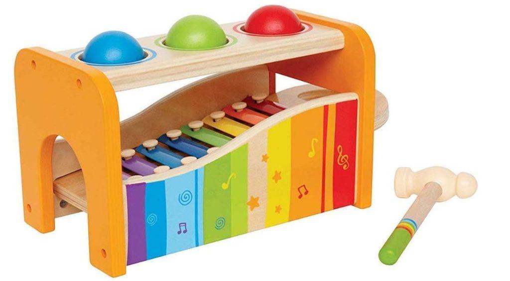 Buntes Xylophon Baby Spielzeug von Hape
