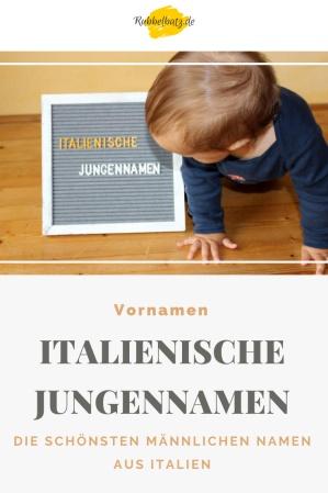 baby-schaut-auf-schild-italienische-jungennamen