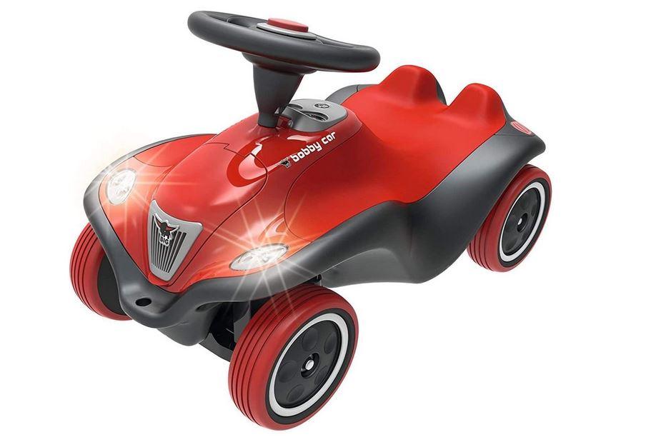 rot schwarzes bobby car rutschauto für kinder