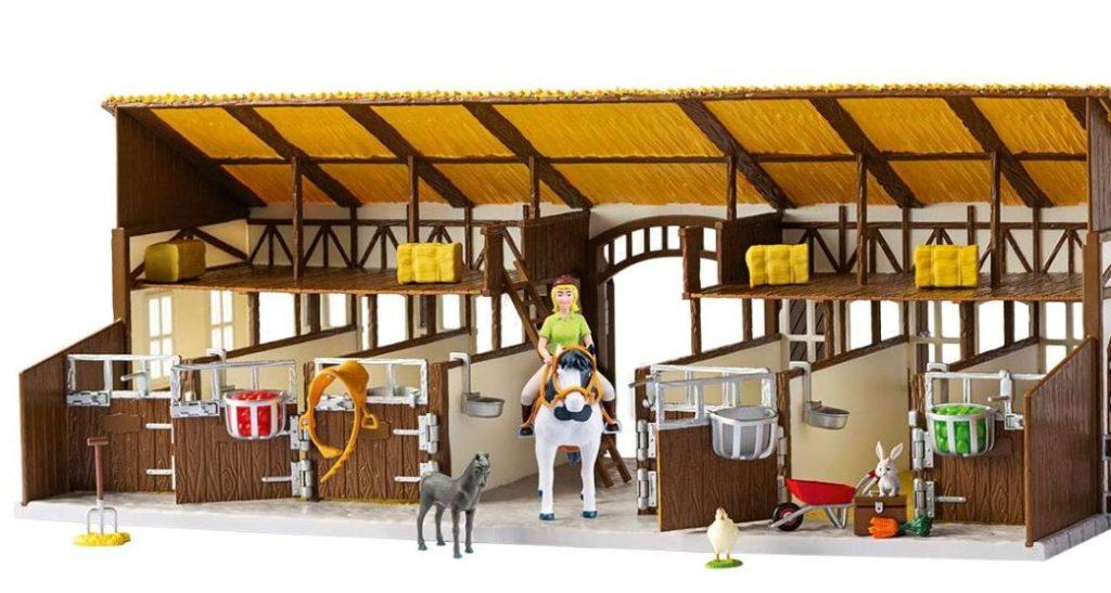 Reiterhof mit Reiterstall Spielhaus aus Bibi und Tina
