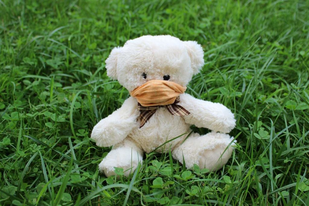 teddy-mit-maske-corona